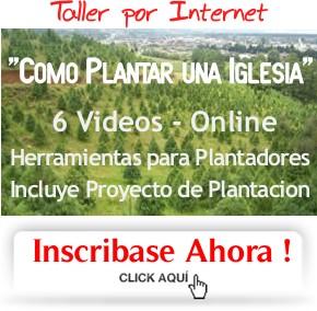 Taller Plantadores de iglesias